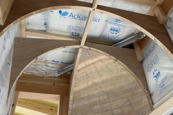 R舟底天井型製作しました!